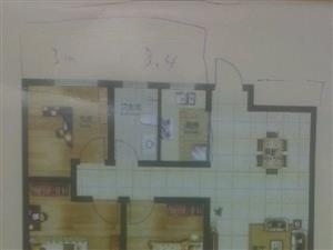 郑浦港九州公馆3室2厅1卫在建房
