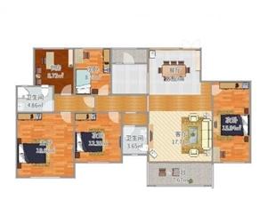 扶绥县福苑小区5室2厅2卫