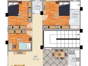 镇苑小区3室2厅1卫
