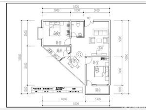 德永花园2期2室2厅1卫