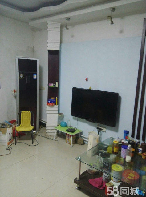 1汝阳鑫鑫小区3室2厅2卫130�O精装修,家具家电齐全