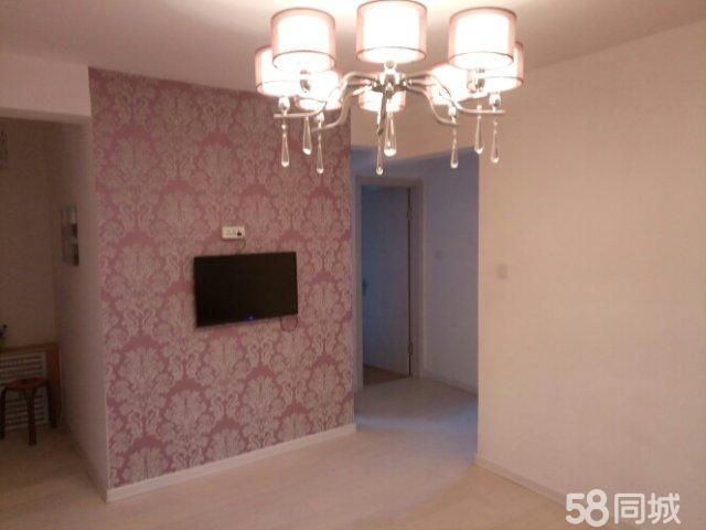 滨河金汇广厦高层紫色浪漫精装两室套房首次出租