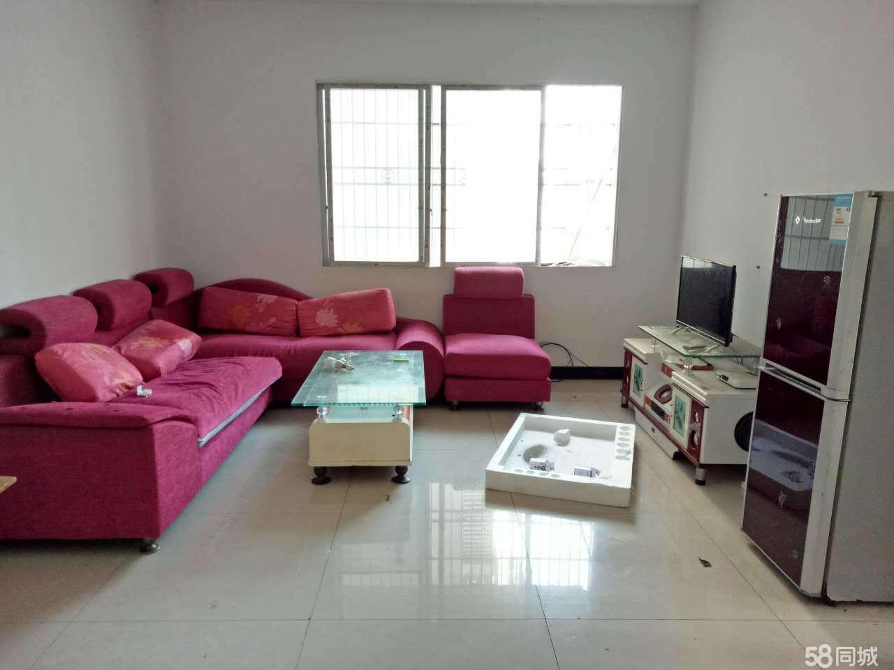 安居中央商城2室2厅83平米简单装修年付