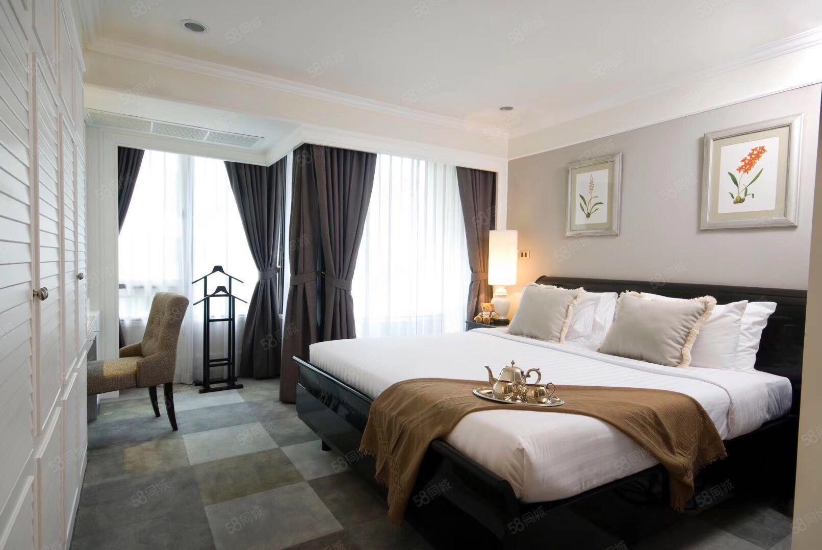 俯瞰抚仙湖美景全精装酒店式公寓拎包入住