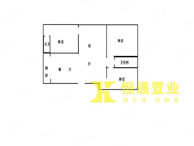 丽景滨江滨江一号旁边时代名苑121平米三房只要46万