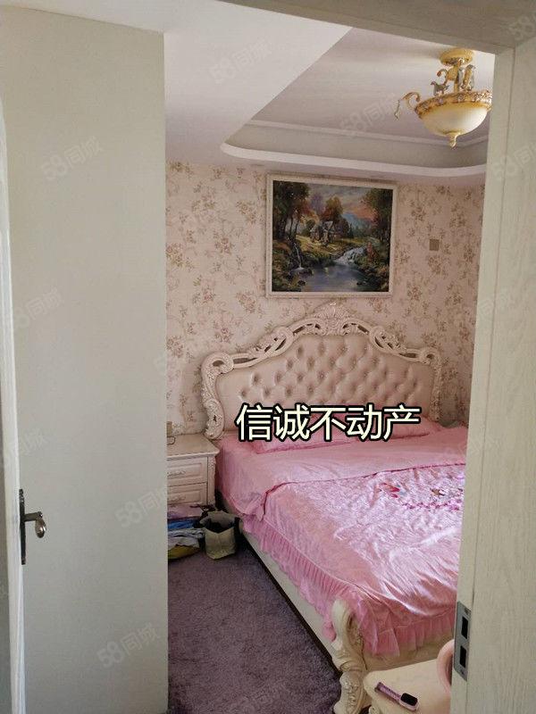 东风路亨星锦绣城豪华精装顶层两室带衣帽间家具家电齐全需全款付
