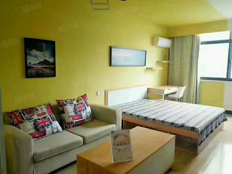 郑东商业中心品质公寓,可月租,精装独立厨卫