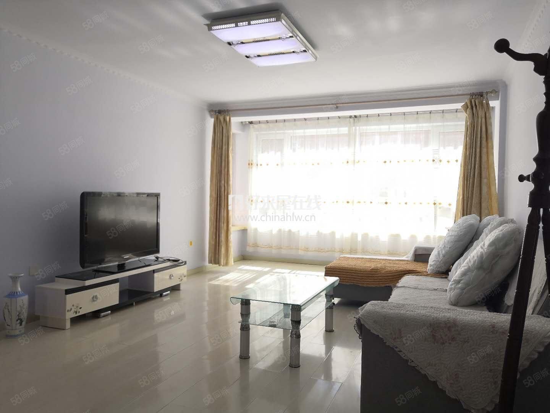 曼哈顿C区,拎包入住,100平两室,2100元包取暖,3楼!
