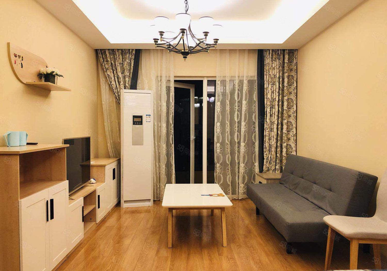 二号桥头沣渭绿洲两室新房首租家具家电齐全看房有钥匙