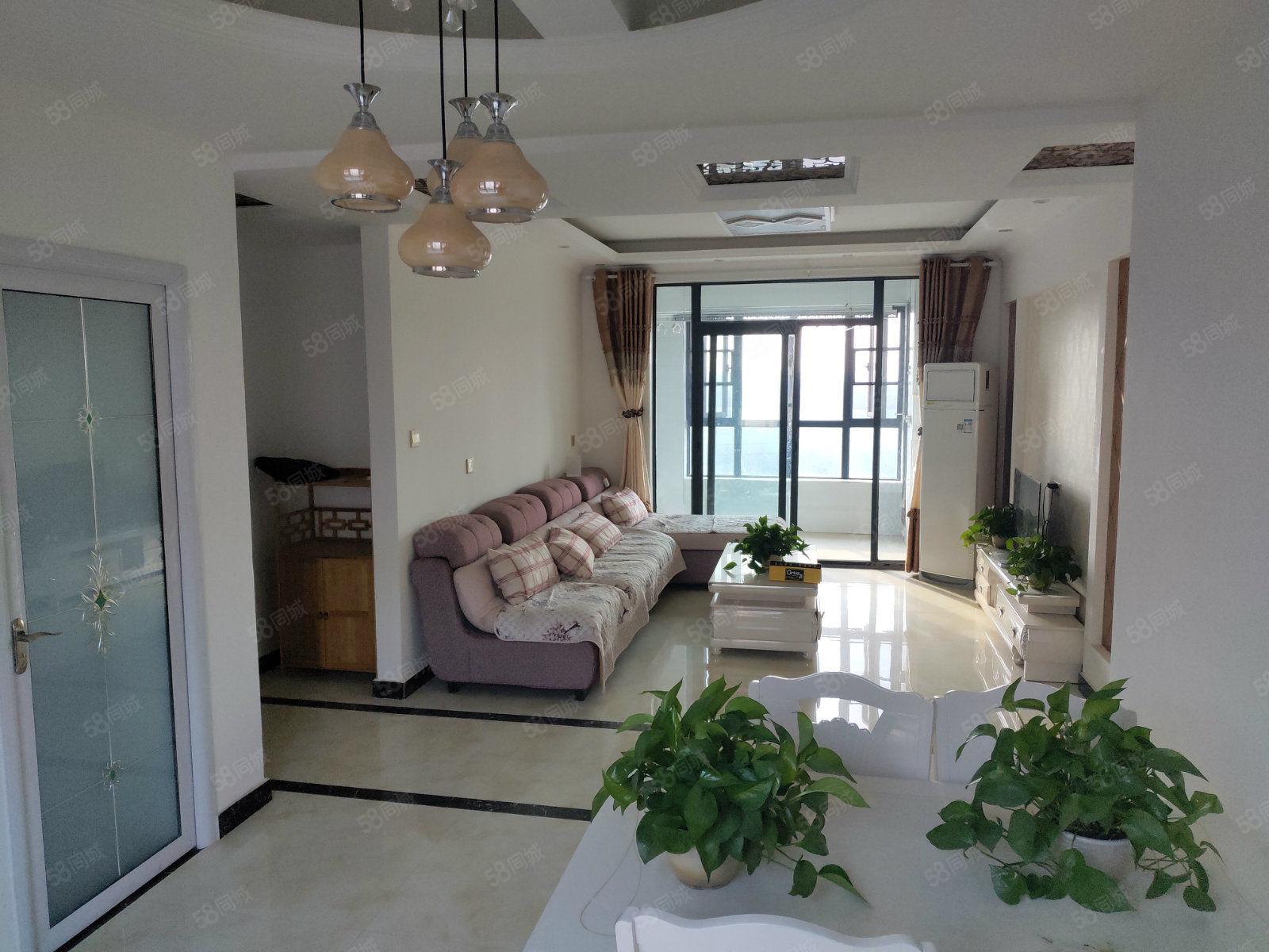有地暖的房子裕鸿世界港丽园精装2房家具家电齐全家电齐全