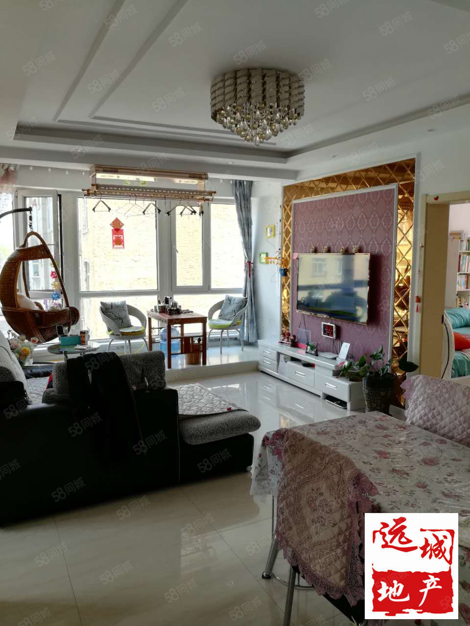 公元尚品正三楼全新精装修三居室带家具拎包即住
