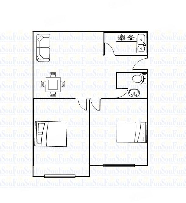 经五路红专路2楼2室随时看房紧邻地铁口生活方便