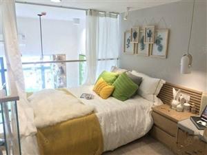 海口湾保利中央海岸Loft公寓一至三房小户型带装修三面环海