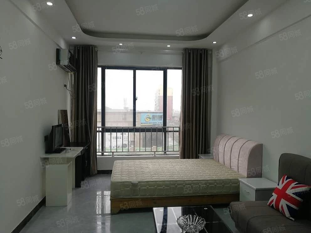 虞城中心,一室一厅,精装修,家具家电齐全,拎包入住