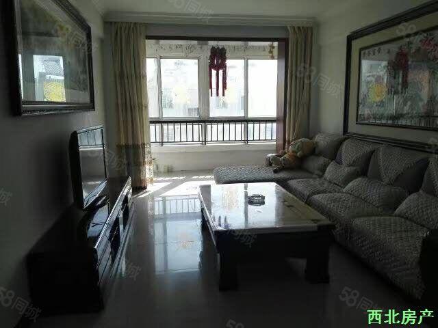 北关小学丽景苑B区2室2厅简单装修采光好户型规整全款