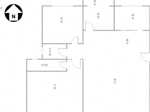 F都市花园52万3室2厅2卫普通装修高性价比!