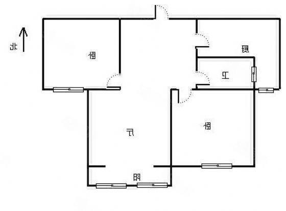 杨庄路口凰庭苑4300一平109平方有储藏间10楼