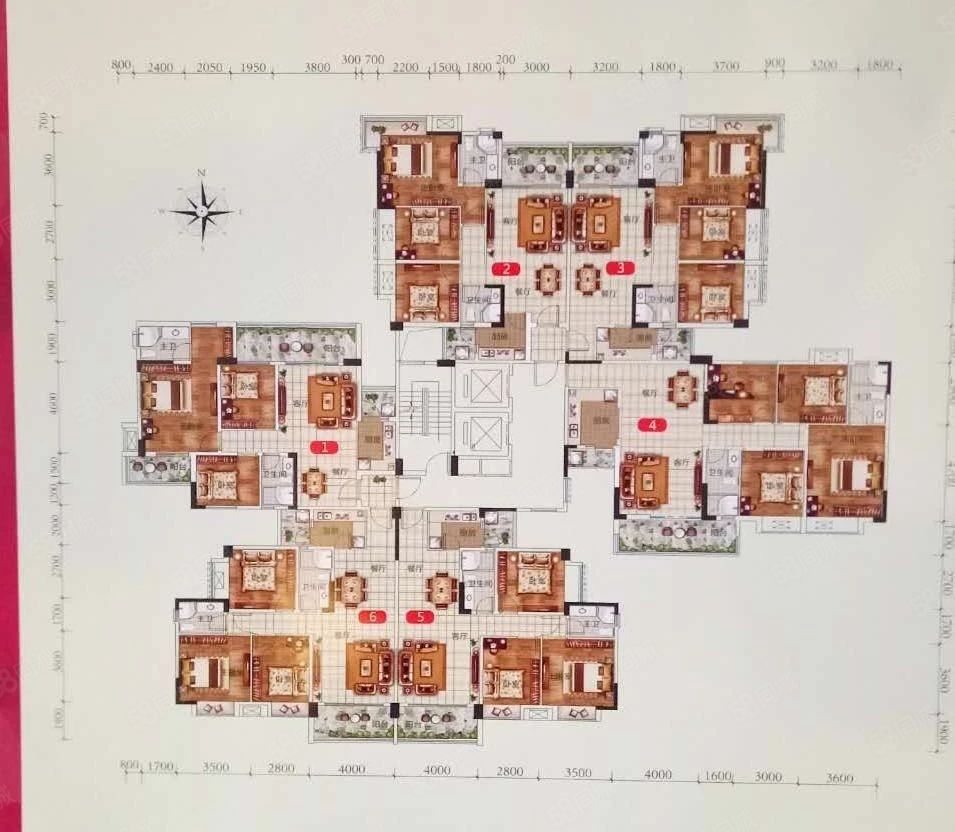 幸福家园3房,一手转名!!一口价3900每平方!抵买!!