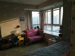 文化路黄河路都市A座精装朝南一居室全明户型温馨舒适