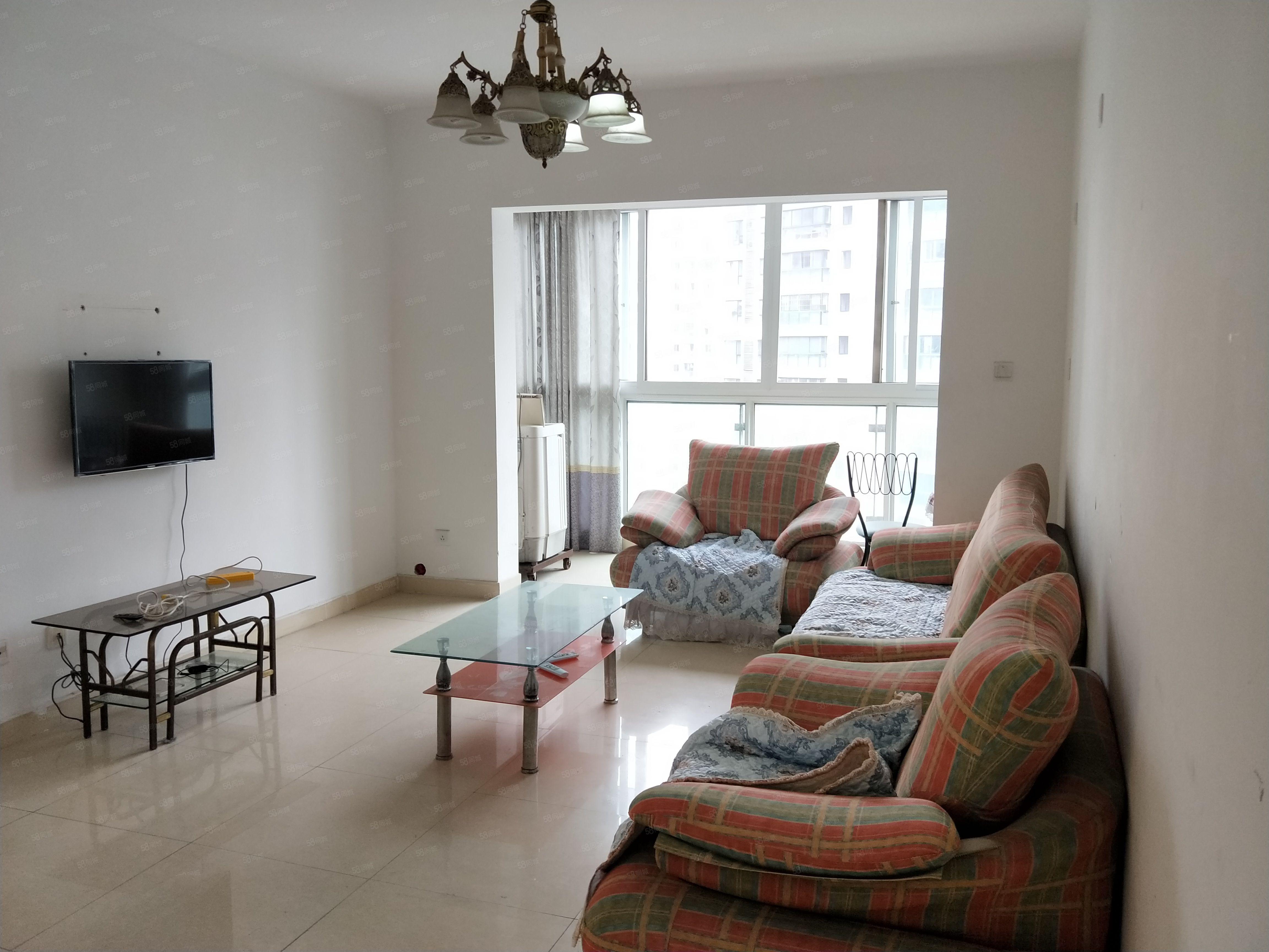 涪城区高水跃进路长虹世纪城二期4室两厅一卫两个空调家具家电齐