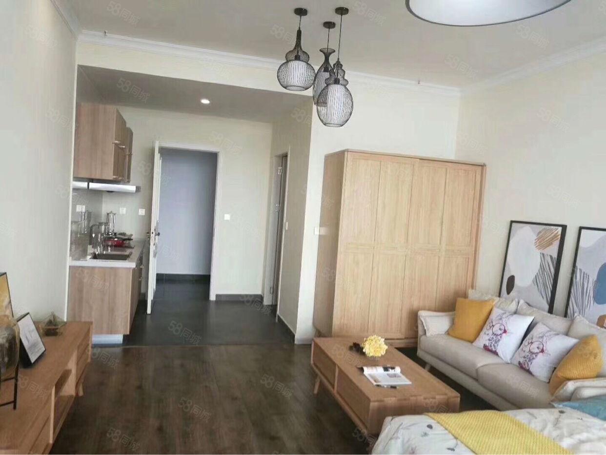 抚仙湖湖景公寓,广龙旅游小镇精装带返租50平米公寓