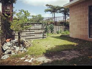 鸿洲江山联排别墅边户独立花园550平方米,仅售598万