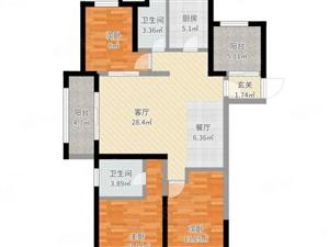 天�鹩�城143平23楼稀有毛培楼层位置好诚心出售