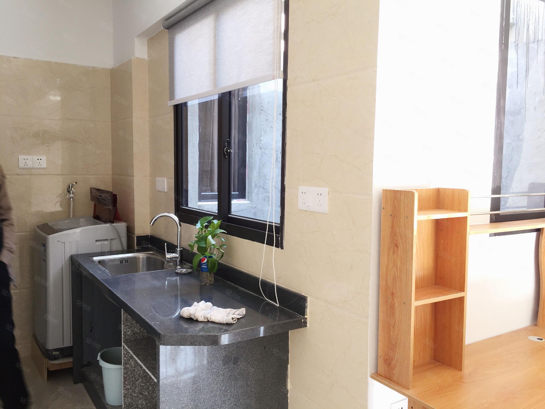 泰禾红郡单身公寓设备齐全拎包入住1200还带大露台