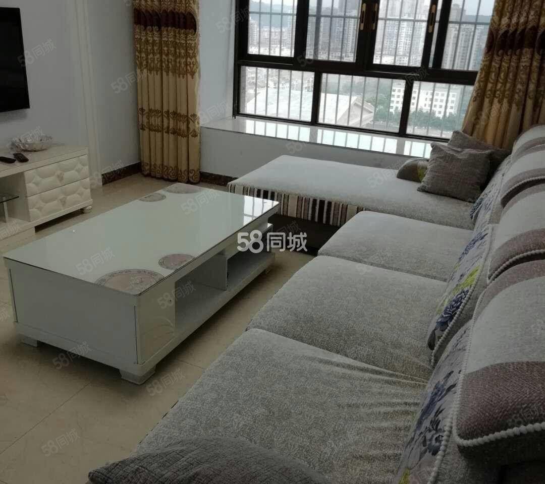 河东魅力城电梯公寓,租房免费送车位出租,家具家电设备齐全