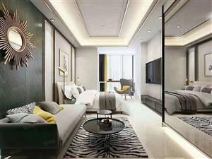 金茂古镇对面精装小公寓33平总价46万带超大露台可观雪景