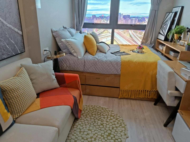 港区南,润丰新尚精装小公寓,均价6300,近地铁即买即收益