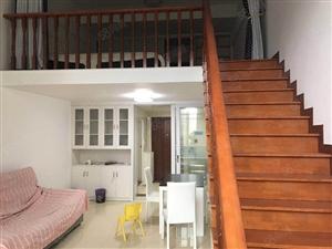 地中海风情精装复式公寓,可改两房,仅售40万!