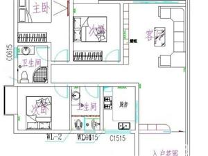 香山甲第三室两厅110平,三室两厅