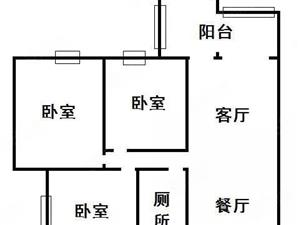 龙郡66,6楼,清水房,三室二厅一卫,环境优美,有两层停车场