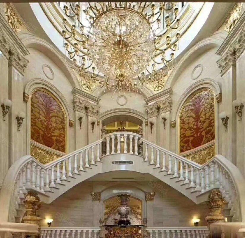 山水佳园二手别墅A1户型豪装6居室高品质的象征