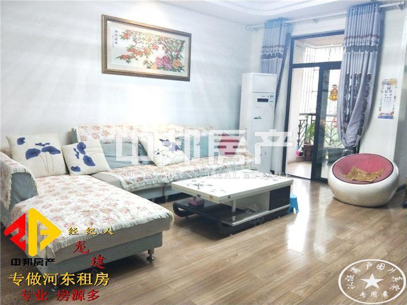 L中铁龙城.4房.家具家电齐全.空调4个.品质高档小区.环境
