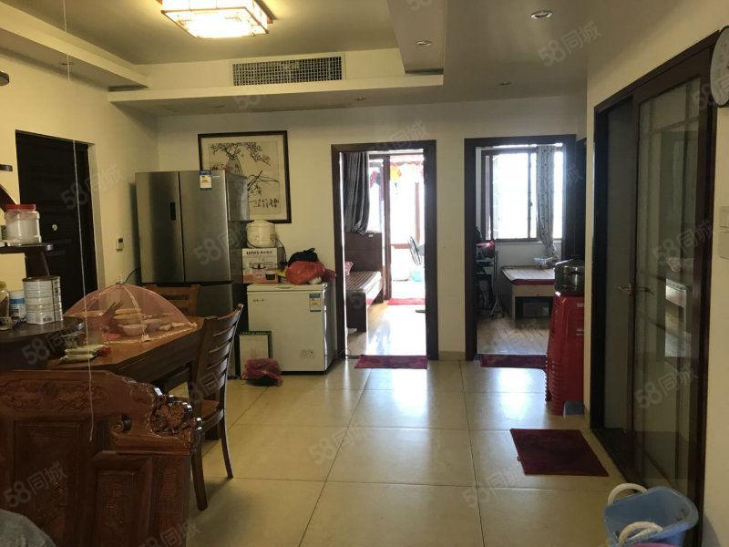 莲东高档小区厦鑫博士园电梯高层三房房东住家装修实木家具