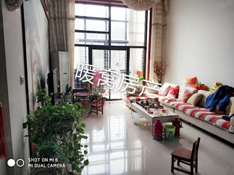 急售!龙泽花园精装3室小复式挑空客厅送2个车位1间储藏室