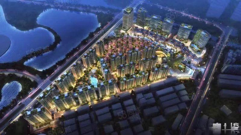 玉溪卖得的一首房临岸三千城211户型!风景房!