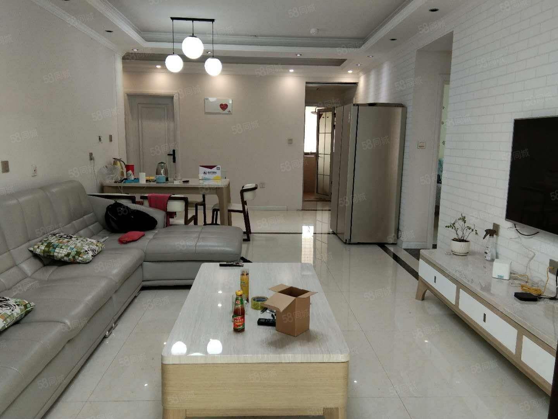 双湖大道华南城旁锦艺城精装三室家具家电齐全照片真实