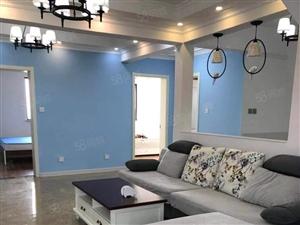 富丽紫玉花园豪华装修家具家电齐全方便看房三居1700