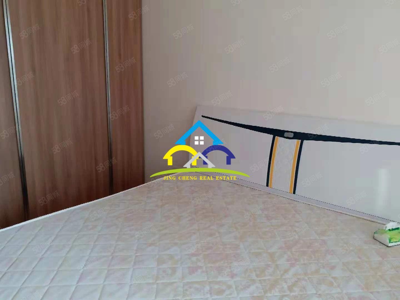 恒大影城楼上精装63平独立卧室带阳台公寓出租,拎包入户