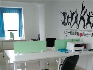 繁华地段沃尔玛融旺楼上写字楼,带办公设备。