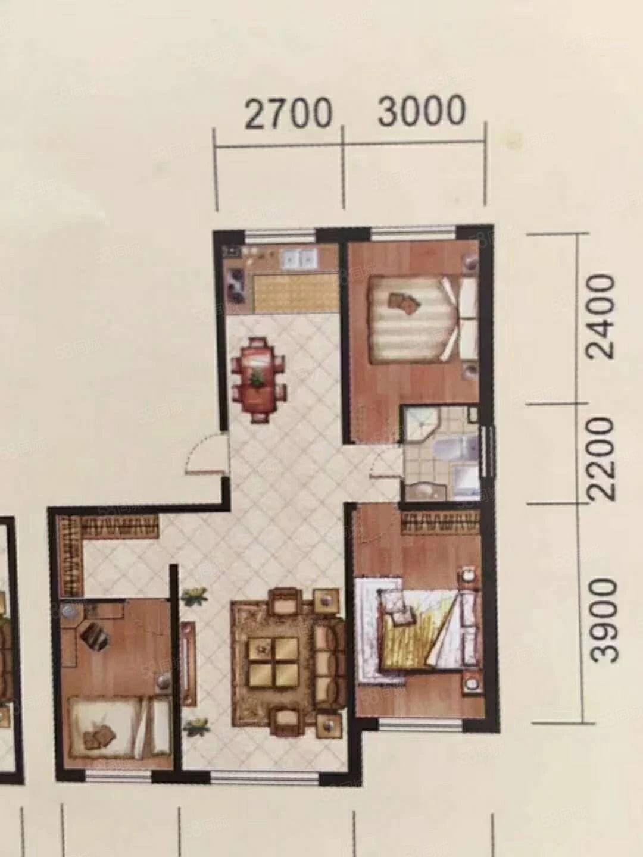 康城百合湾电梯新楼11楼毛坯三室可按揭个人一手房