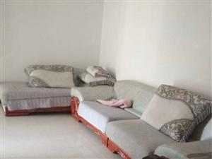 出租国购名城南区简单装修两室两厅一卫有书房,拎包入住