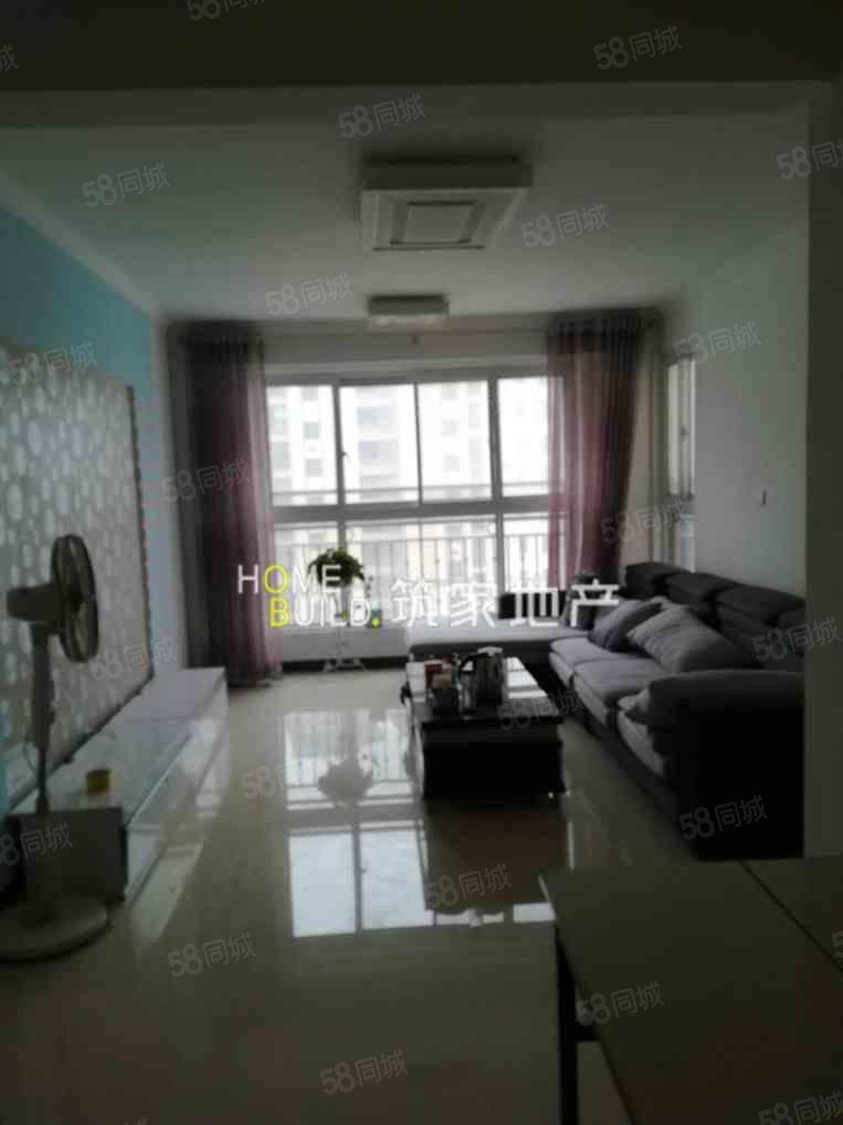 中南世纪锦城,精装两室,有证,家具齐全