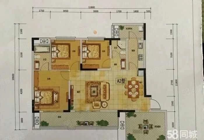 金桥新区电梯房跳楼价,置信品牌,贴心物业,花园小区