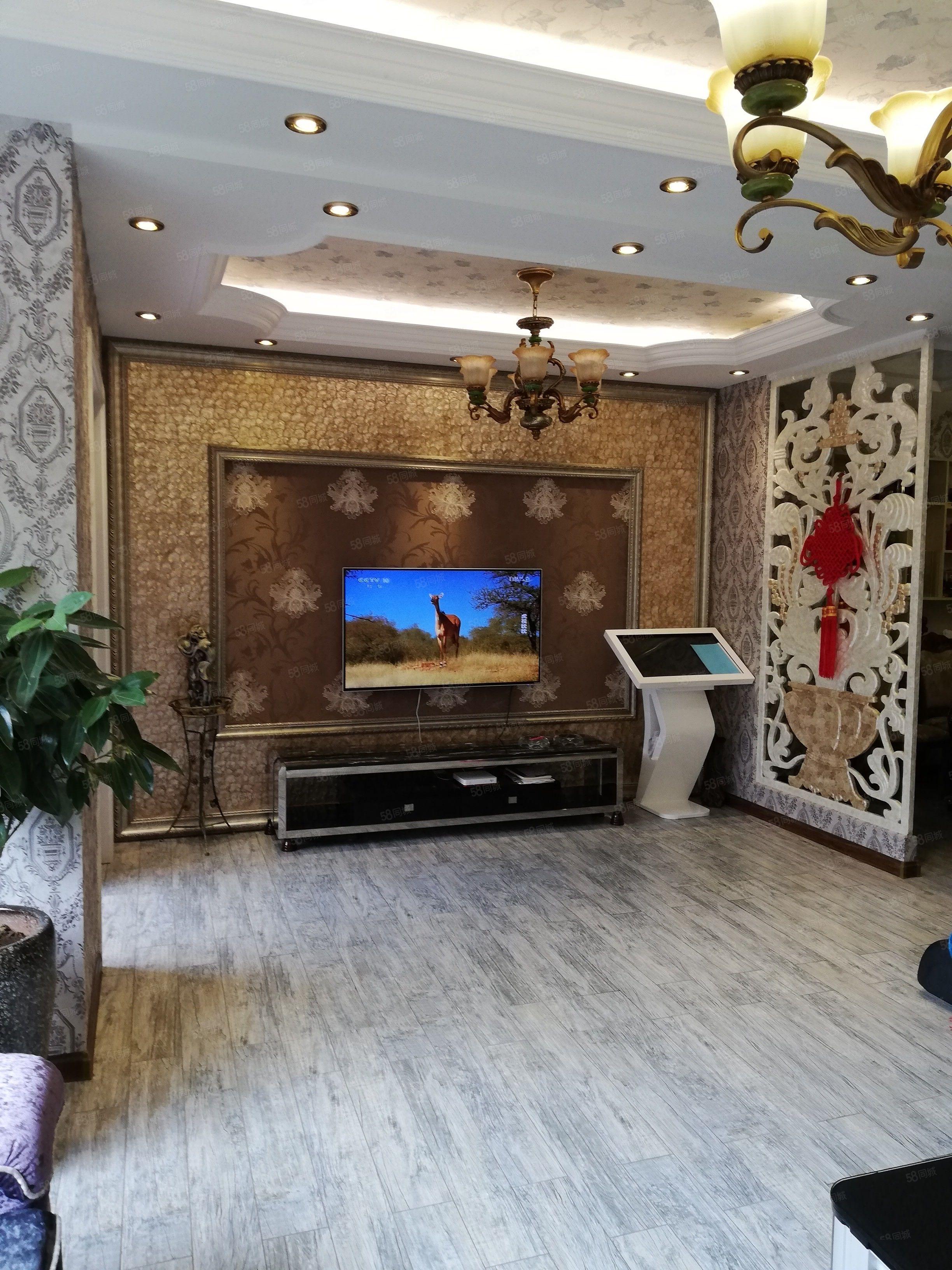 格林公馆三层别墅豪华装修关门卖可按揭贷款