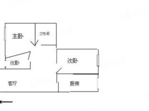 吉泰世纪城6层带阁楼超大平米184仅售40万