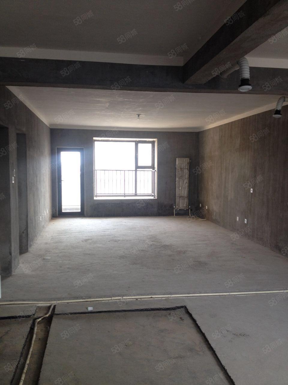 急售安和小区毛坯4房位置直观小区全景和开发商直接签合同
